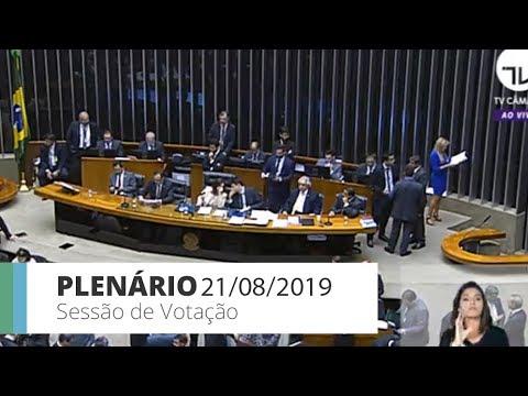 Plenário - Sessão de votação - 21/08/2019 - 18:40
