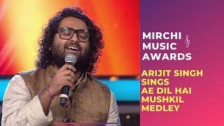 Ae Dil Hai Mushkil medley|Arijit Singh & Jonita Gandhi | Mirchi Music Awards | #RSMMA | Radio Mirchi
