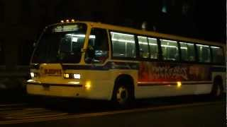 preview picture of video 'MTA NYCT Bus: 1998 Nova-RTS B20 Bus #9495 at Jamaica Ave-Pennsylvania Ave'
