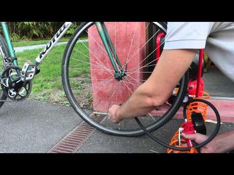 Comment gonfler un pneu avant de vélo avec un compresseur comment gonfler un pneu de vélo avec un compresseur? - 0 - Comment gonfler un pneu de vélo avec un compresseur?