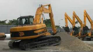 What Does The JS In JCB JS200 Excavator Mean?