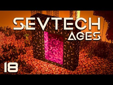 SevTech: Ages EP18 Nether Discoveries + Coke Oven Automation