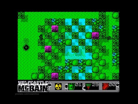 Wolfcastle McBain Walkthrough, ZX Spectrum