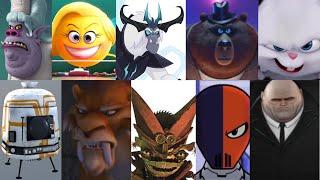 defeats of my favorite animated non-disney movie villains