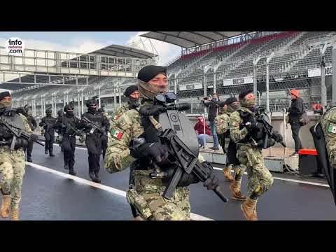 La Marina de México ultima los preparativos por su 200º aniversario