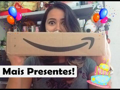#AmadosTodoDia 20: Unboxing de Aniversário 02