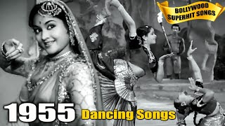 1955 Bollywood Dance Songs Video - Old Superhit Gaane - Popular Hindi Songs