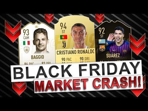 BLACK FRIDAY MARKET CRASH EXPLAINED! | TRADING TO GLORY #27 | FIFA 19 ULTIMATE TEAM