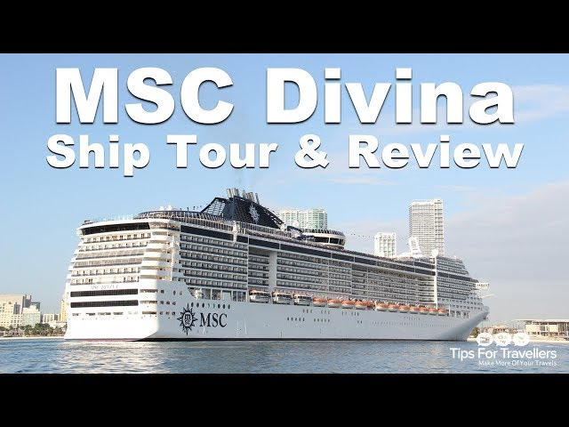 MSC Divina Ship Tour (Sailing Caribbean cruises out of Port Miami)