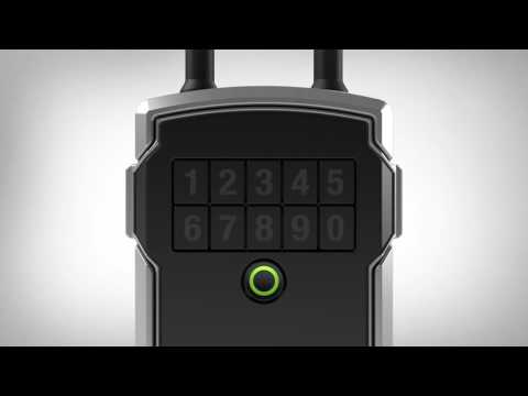 Screen capture of Bluetooth<sup>®</sup> Lock Box - How to Change the Battery