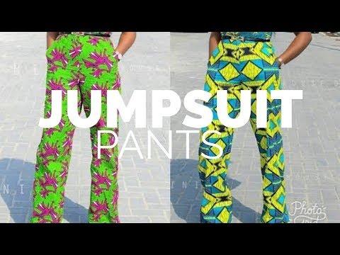 JUMPSUIT PATTERN TUTORIAL || TROUSER PATTERN
