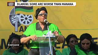 "Malema claims Ramaphosa ""worse person"" Dlamini refers to"