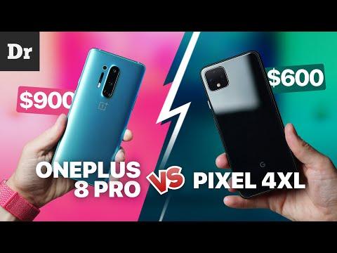OnePlus 8 Pro vs Pixel 4 XL: Лучший ГУГЛОФОН?