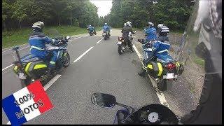 Un MOTARD fait la Course avec un GENDARME | Road Rage & Daily Observation | FRANÇAIS