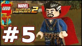 LEGO Marvel Superheroes 2 - LBA Episode 5 - The Lava Realm!