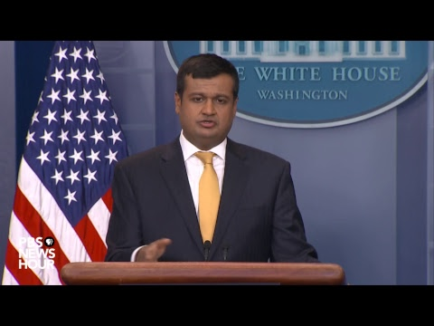 WATCH: Raj Shah, Kevin Hassett hold White House news briefing