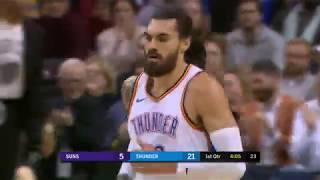 Phoenix Suns vs Oklahoma City Thunder   November 12, 2018