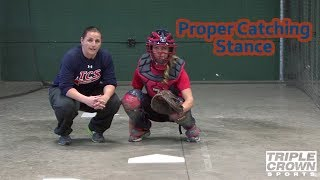Proper Catcher Stance - TCS Training Tips