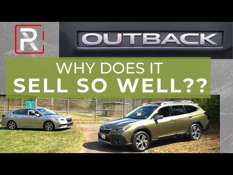The Rise Of The Subaru Outback Station Wagon In America
