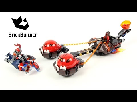 Vidéo LEGO Nexo Knights 70314 : Le chariot du Chaos du Maître des bêtes