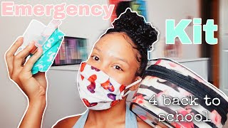 Back To School Teen Girl Emergency Kit 2020 Period Kit | Tamika Williams