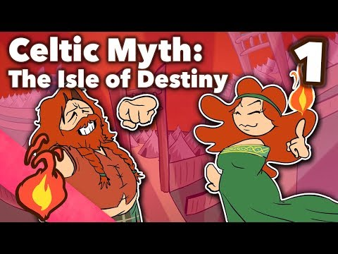 Keltská mytologie – Ostrov osudu - Extra Credits