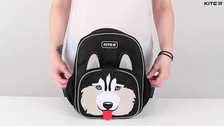 """Рюкзак детский Kite Kids Husky K20-549XS-2 ( 3-5 лет) от компании Интернет-магазин """"Радуга"""" - школьные рюкзаки, канцтовары, творчество - видео"""