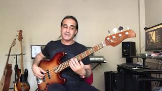 Barış Manço | Nick The Chopper (Bass Cover) Bas Gitar Cover