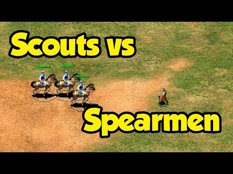 Can Scouts Fight Spearmen?