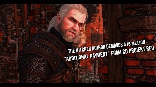 The Witcher author demands $16 million from CD Project red