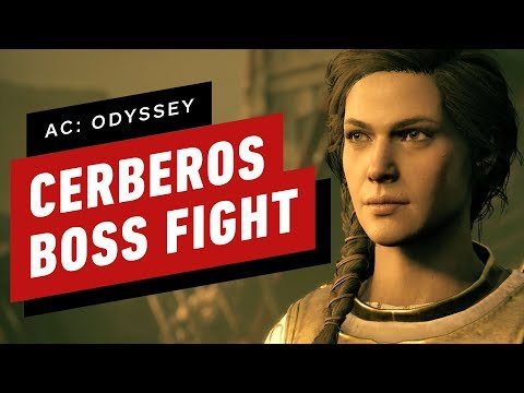 Assassin's Creed Odyssey: Kassandra Takes on Cerberos - Fate of Atlantis DLC