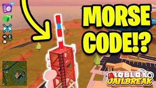 JAILBREAK SECRET MUSEUM MORSE CODE!? | Roblox Jailbreak New Mini Update!