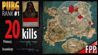 PUBG Rank 1 - TeamEntruv 20 kills [SEA] DUO FPP - PLAYERUNKNOWN