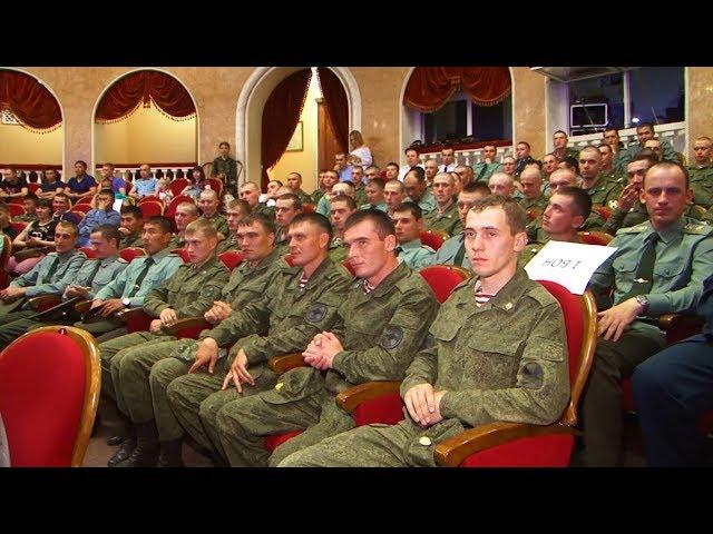 День рождения военной части