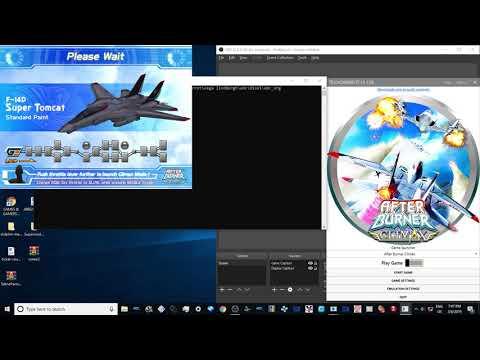 After Burner Climax - Teknoparrot 1 80 - смотреть онлайн на
