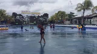 preview picture of video '[LIBURAN NAURA] Bermain air di Waterboom Pesona Modern Banjarmasin Part 3'