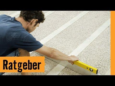 Boden ausgleichen mit Schüttung | HORNBACH Meisterschmiede