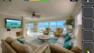 Coastal Living Room Walkthrough