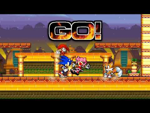 ssf2 mod sonic battle extra, Sonic4ever Battle and undertale