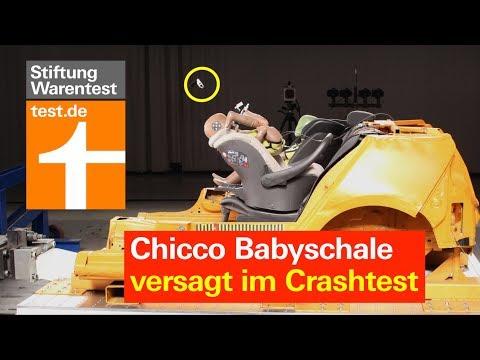 Warnung: Chicco Babyschale versagt im Crashtest - Test Autokindersitze