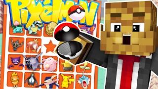BRAND NEW Minecraft POKEMON BINGO CHALLENGE - Pixelmon Modded Minigame