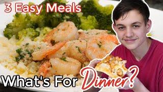 WHAT'S FOR DINNER? | EASY DINNER RECIPES | NO.50