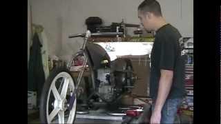 How to: fit a Go kart/ Mini bike sprocket to a bike wheel