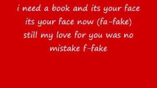 Simply Red Fake with lyrics