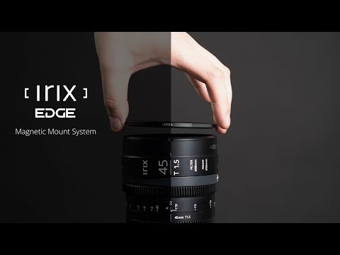 Irix Edge Magnetic Mount System- Clever Filming, Easy Workflow