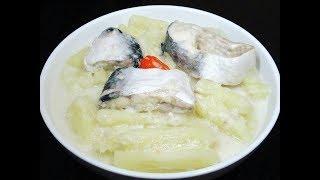 How To Cook Cassava With Fresh Fish {Muhogo Wa Nazi Na Samaki}