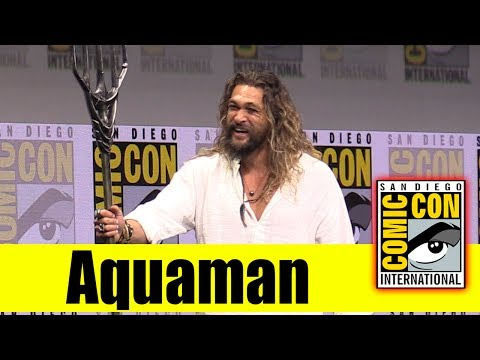 AQUAMAN | Comic Con 2017 Full Panel (Jason Momoa)