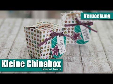 Mini-China-Box | Takeout Treats  | Zum Mitnehmen | Herbst-Winter 2018 | Stampin' Up!