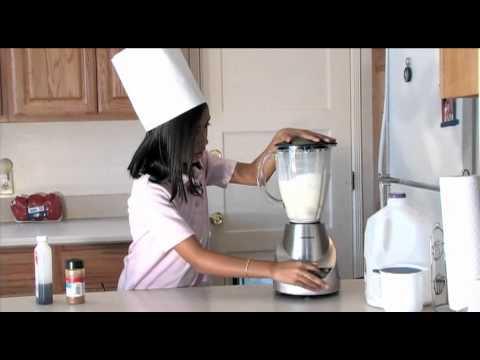 Milkshake μπανάνα χωρίς παγωτό