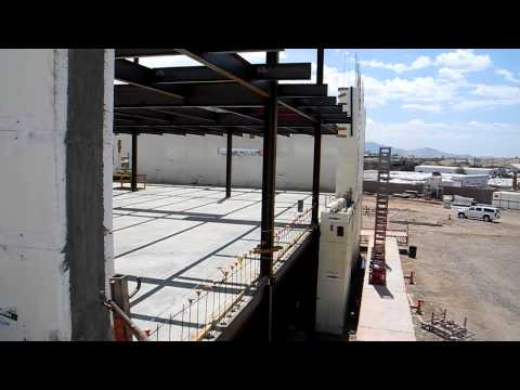 Fox Blocks on City of Phoenix 911 Dispatch Center 50 ft tall with Insulated Concrete Forms